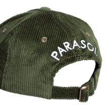 Load image into Gallery viewer, Corduroy Sunrise Logo Cap - Green