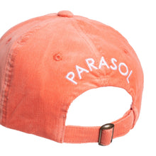 Load image into Gallery viewer, Corduroy Sunrise Logo Cap - Coral Pink