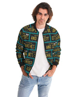 4th Amendment ALPR Print Unisex Bomber Jacket