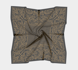 WWII Code Cipher Scarf