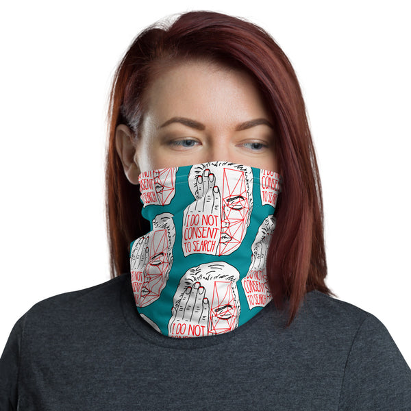 Detection Protest Neck Gaiter - teal