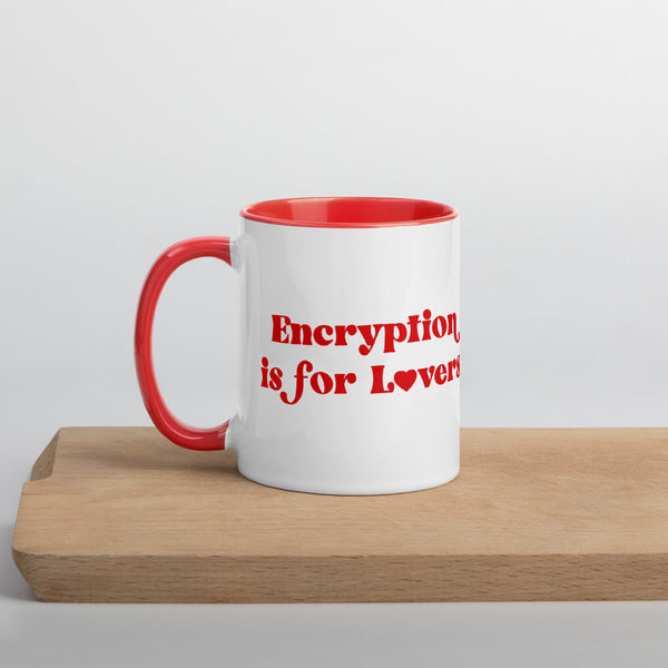 Encryption is For Lovers Mug