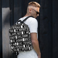 Europe Plate ALPR Backpack