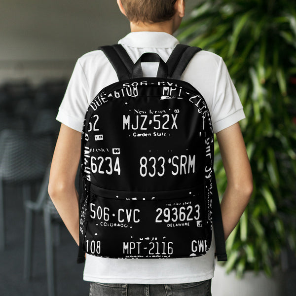 State Plate ALPR Backpack