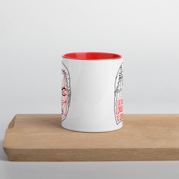 Detection Protest Mug - Red & White
