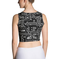ALPR Circuit Crop Top