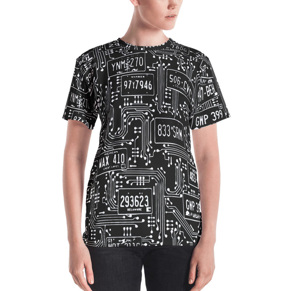 ALPR Circuit Fitted T-shirt