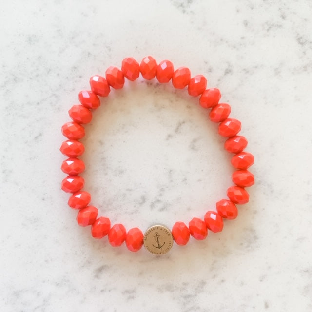 Solid Glass Philanthropic Bracelet