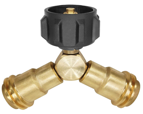 2-Way Propane Connector