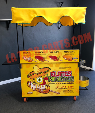 (#D02) The Elote Cart