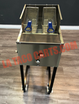 (#51) Portable Double Fryer