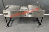 "(#27) Double 24"" Griddle Cart"