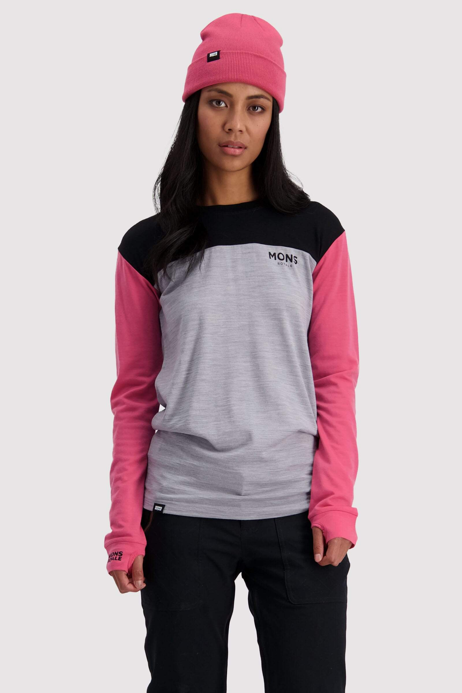 Yotei BF Tech LS - Pink / Black