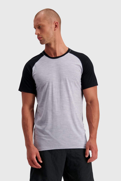 Temple Tech T - Black / Grey Marl