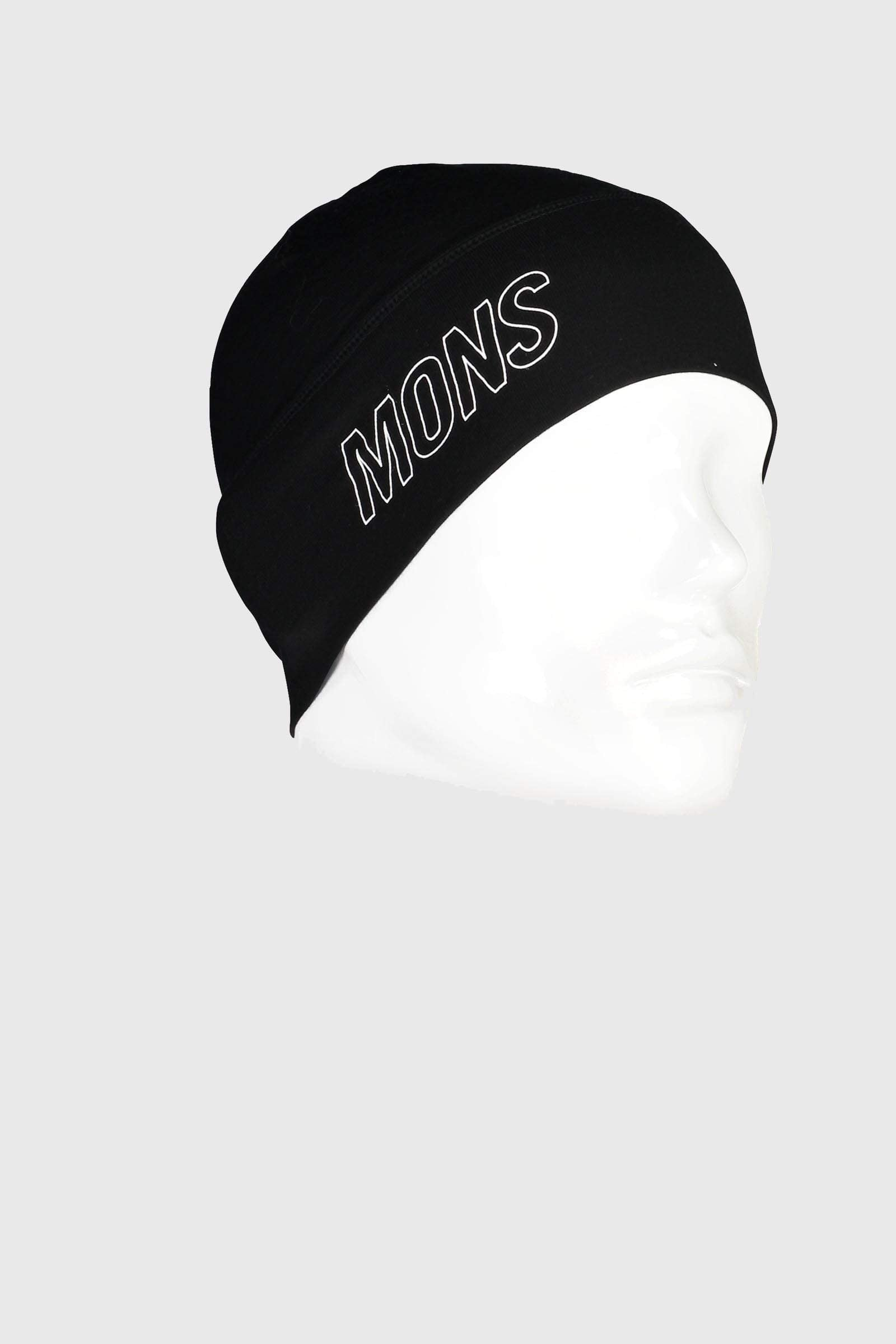Tech Under Helmet Beanie - Black / Reflective
