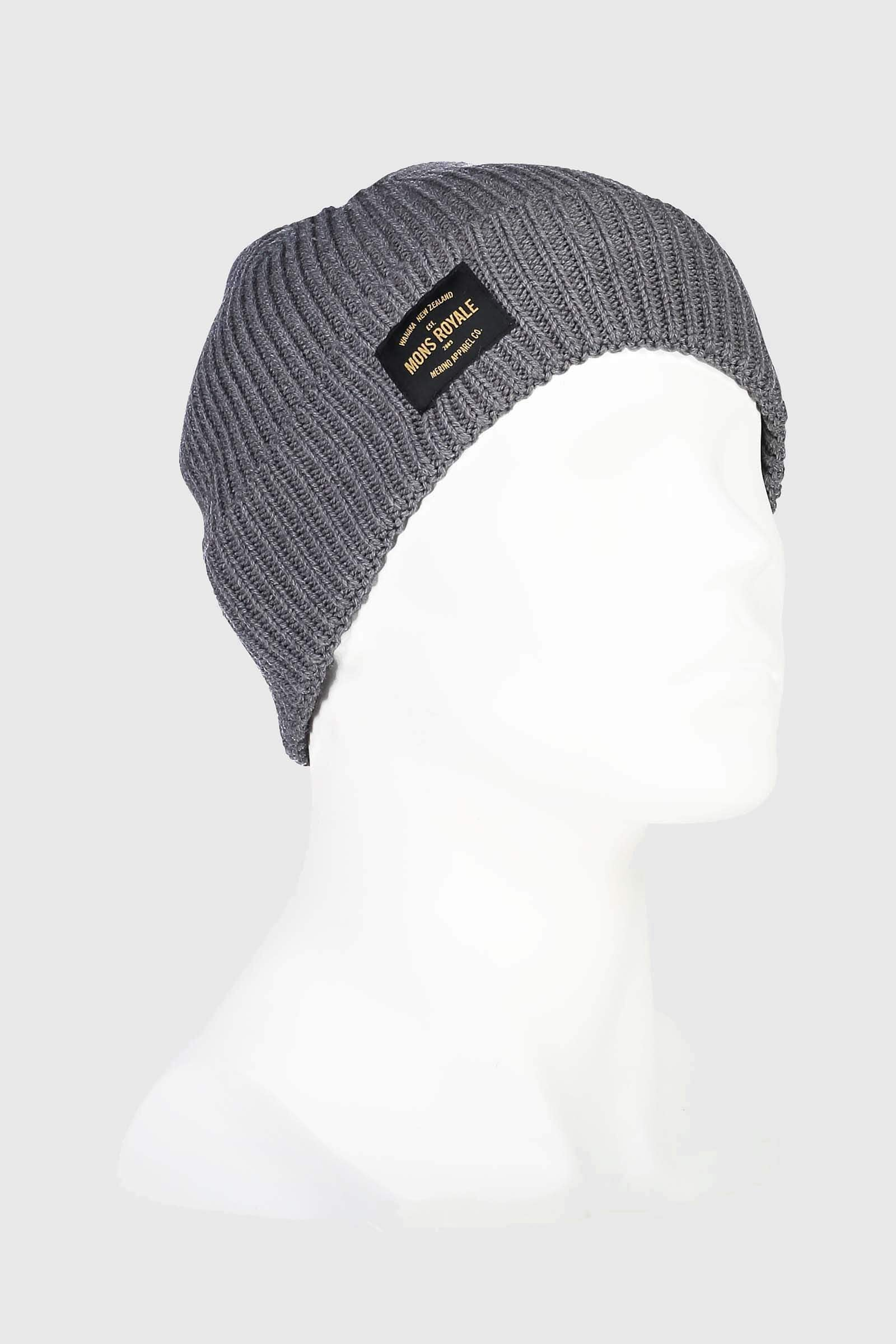 Fisherman's Beanie - Charcoal