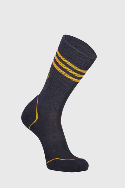 Signature Crew Sock - 9 Iron / Gold