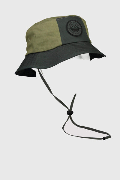 Beattie Bucket Hat - Chive / Olive