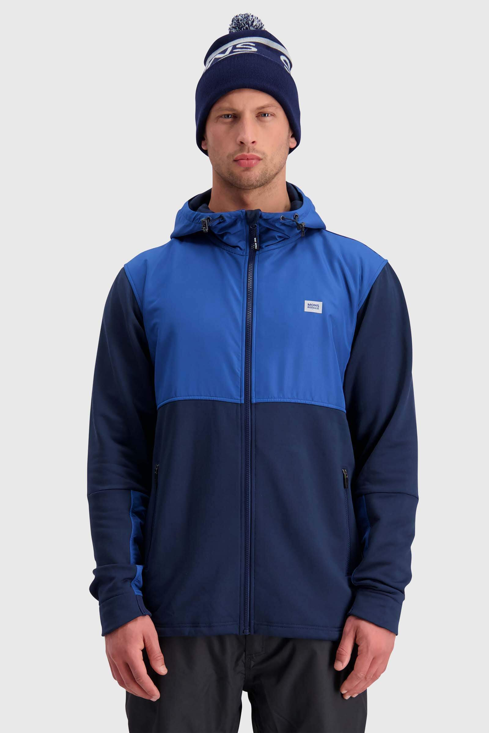 Decade Tech Mid Hoody - Navy / Deep Ocean