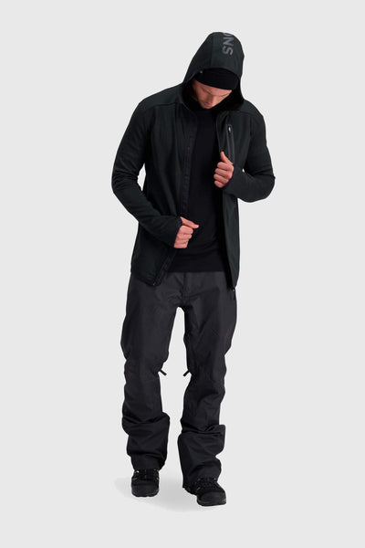 Approach Tech Mid Hoody - Black