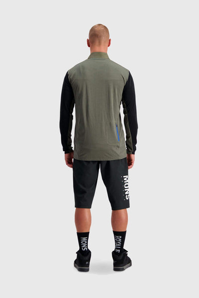 Redwood Wind Jersey - Black / Olive