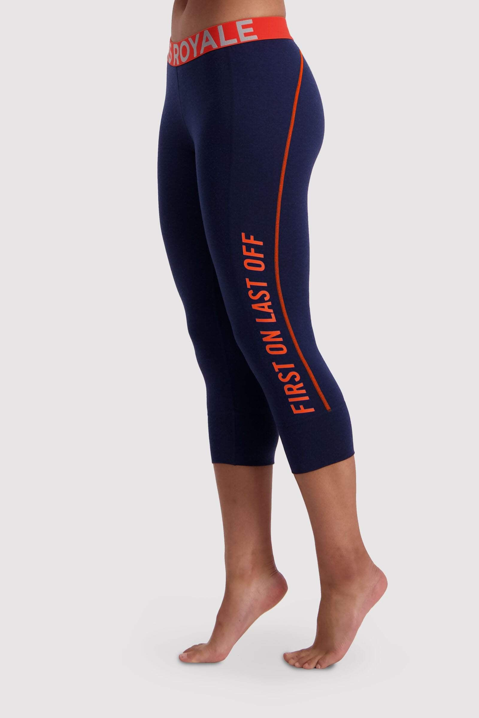 Christy 3/4 Legging - Navy