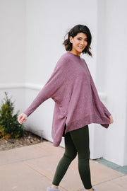 A Lot To Love Mauve Top