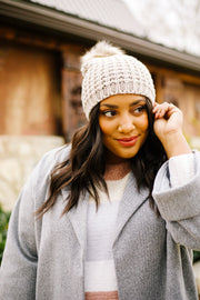 Cable Knit Beanie | Frances Blue Boutique | Women's Clothing Store