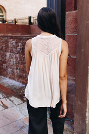 Just A Little Lace Blouse