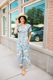 Lily Light Blue Jumpsuit