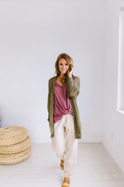 Open To Change Hooded Sweater