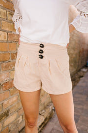 Button Up For Summer Shorts