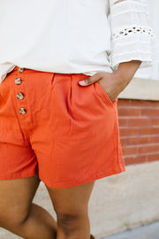Shorts Sunny Side Up In Rust