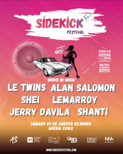 SideKick Festival Carros entrada General
