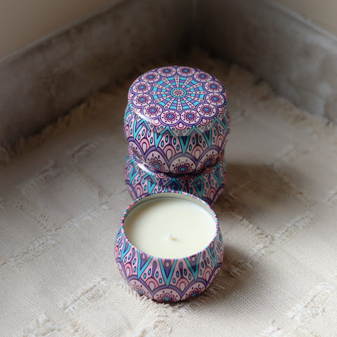 Berry Tangerine Soy Candle