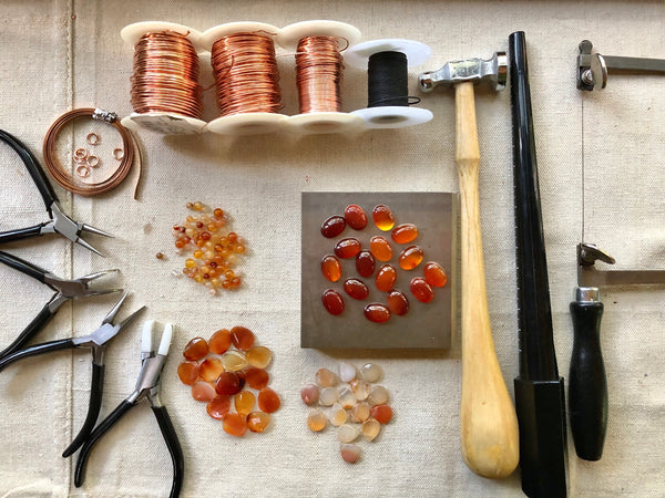 Carnelian Gemstone Jewelry