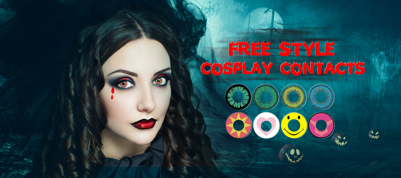 Free Style Cosplay Contacts