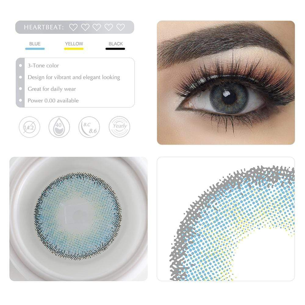 Unique selling points of the Blue Colored lenses
