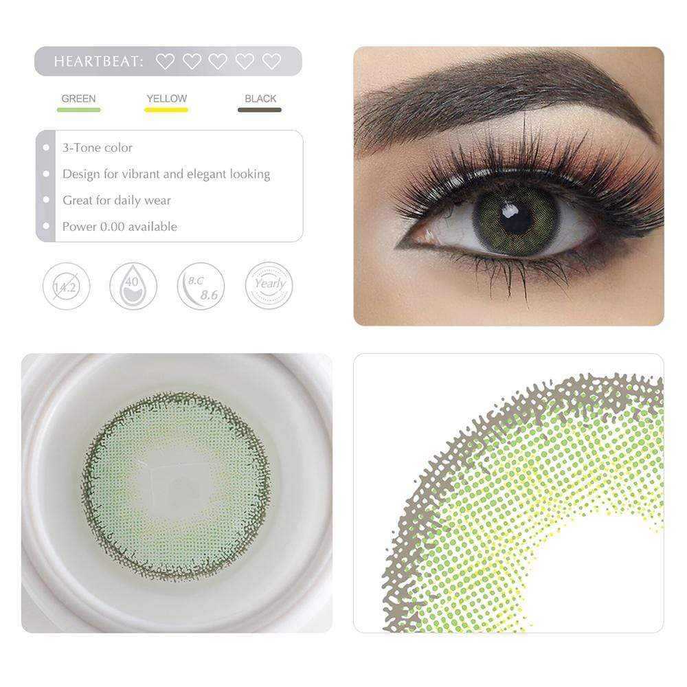 Unique selling points of the Green Colored lenses