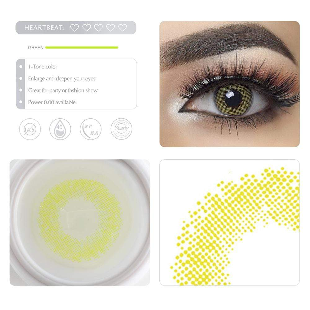 Unique selling points of the Lime Green Colored lenses