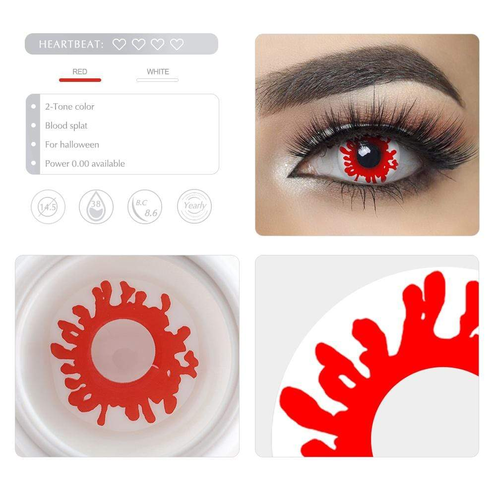 Unique selling points of the Blood Splat Cosplay Contact lenses