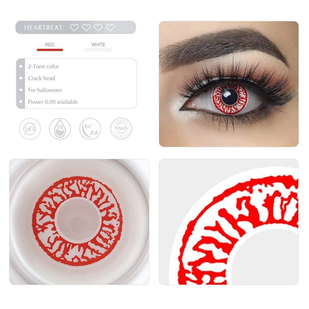 Unique selling points of the Crack Head Cosplay Contact lenses