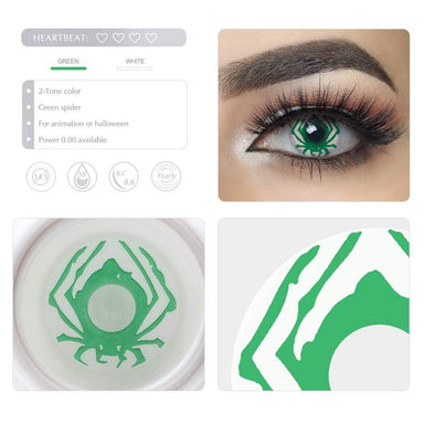 Unique selling points of the Green Spider Cosplay Contact lenses