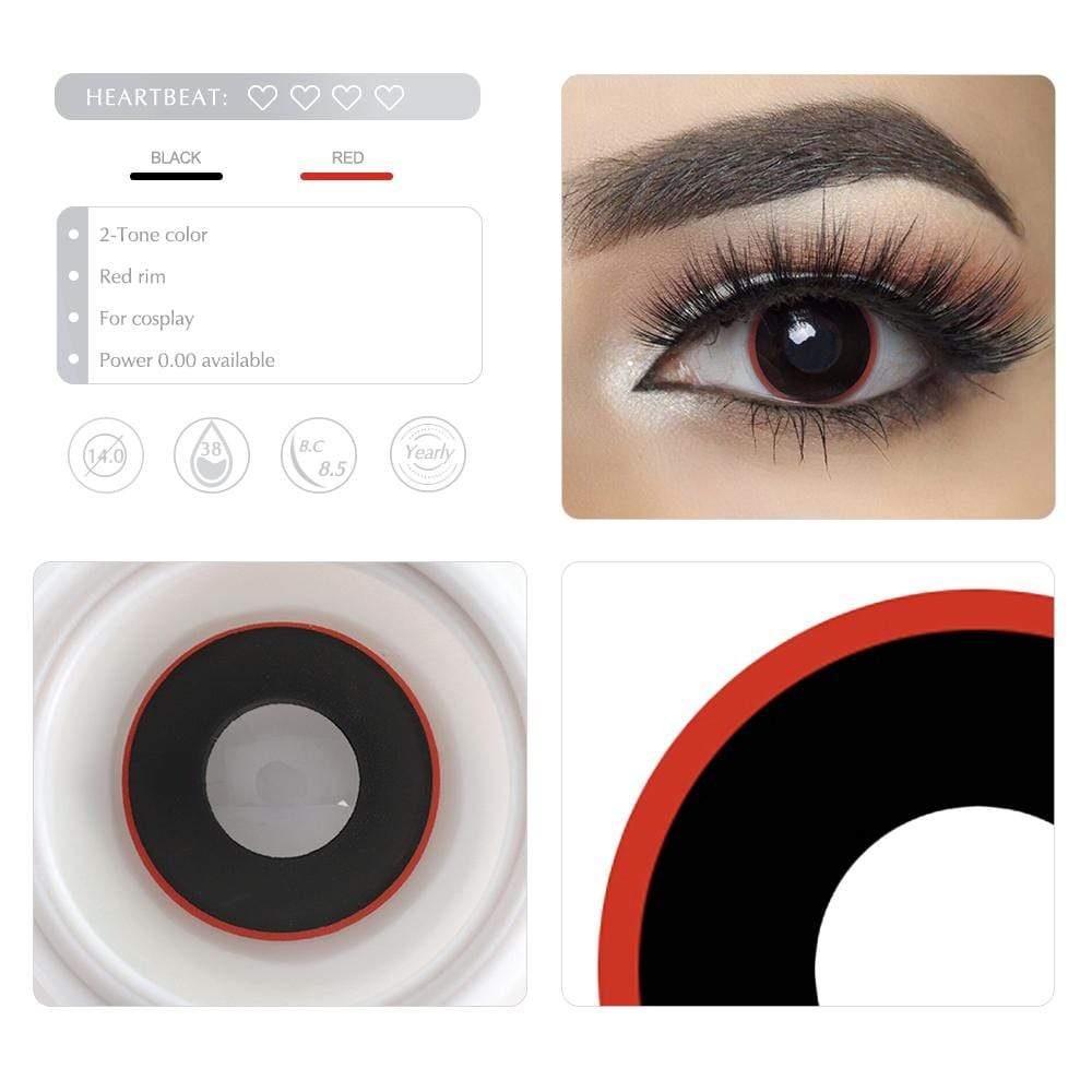 Unique selling points of the Red Rim Cosplay Contact lenses