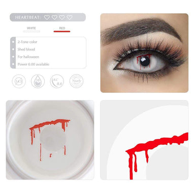 Unique selling points of the Shed Blood Cosplay Contact lenses