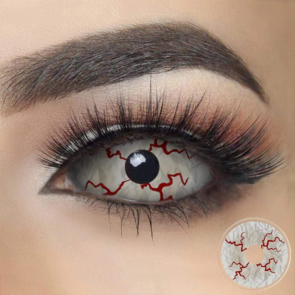 Bloody Crack Sclera Eyes