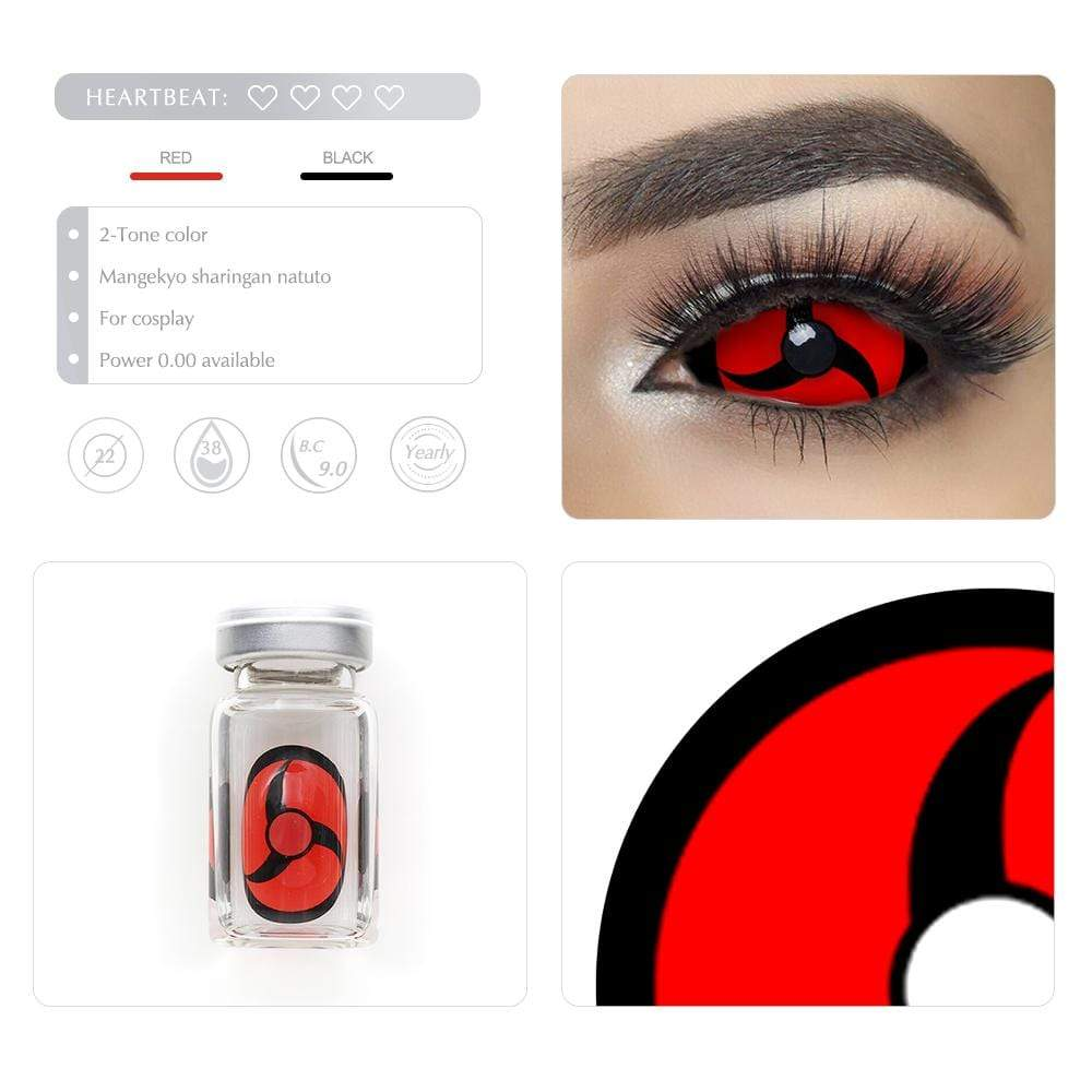 Unique selling points of the Mangekyo Sharingan Naruto Scleral lenses