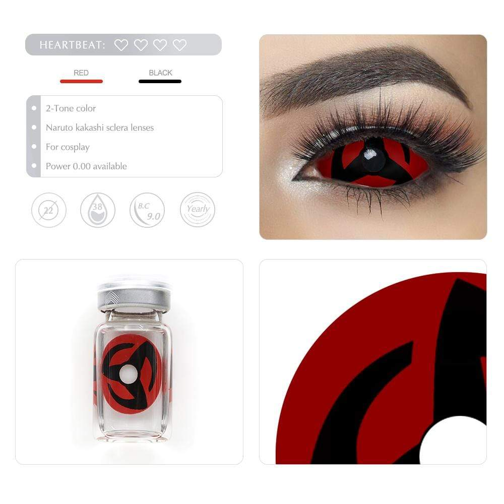 Unique selling points of the Naruto Kakashi Scleral lenses
