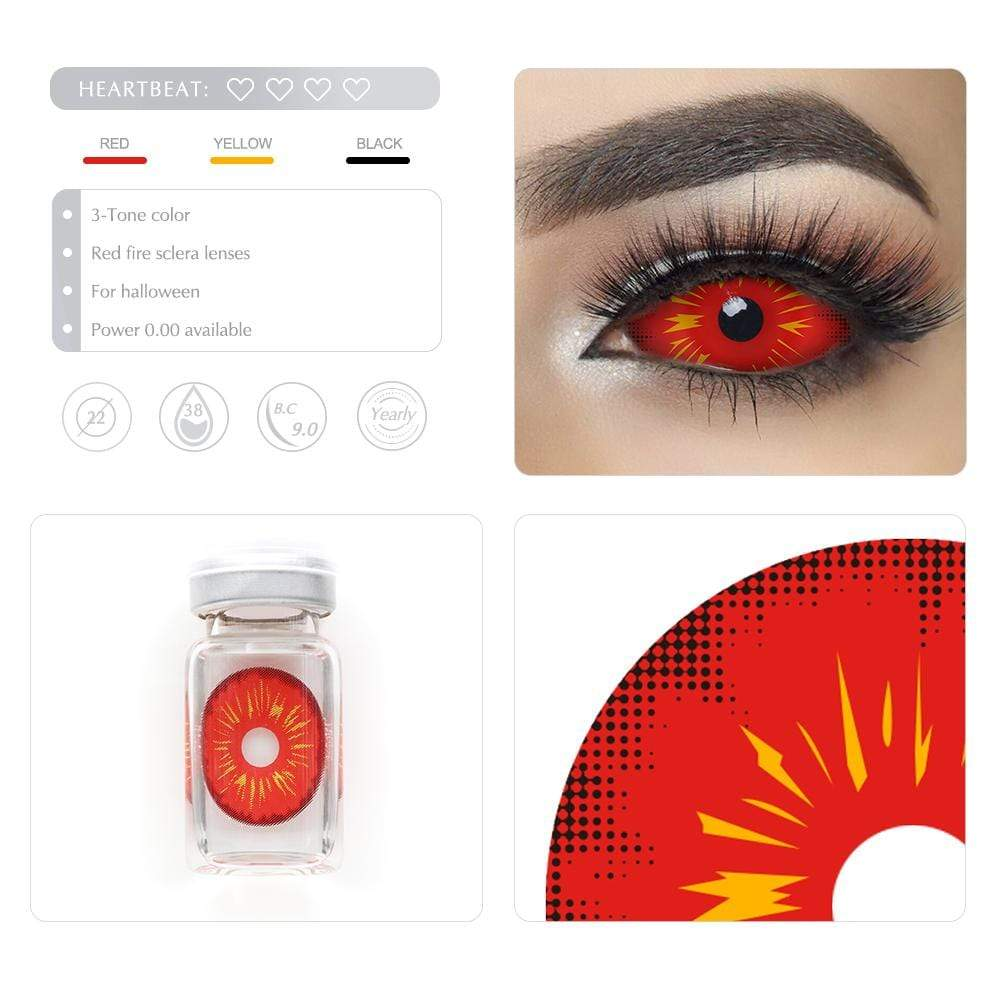 Unique selling points of the Red Fire Scleral lenses