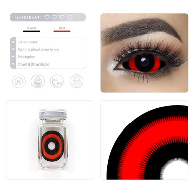 Unique selling points of the Red Ring Ghoul Scleral lenses